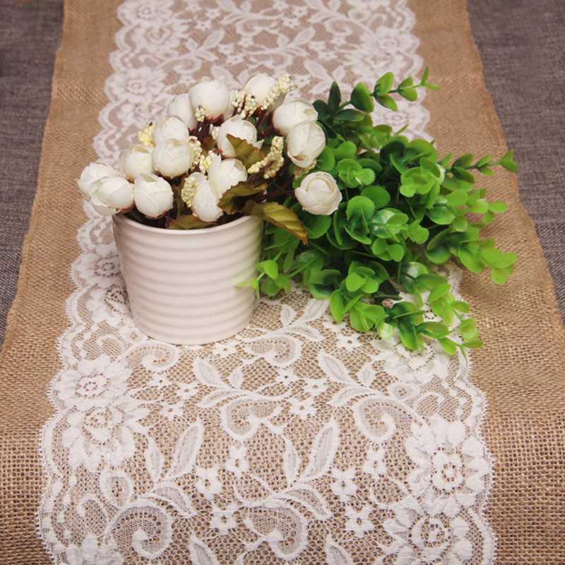 table runner: NEW 730 KNITTED TABLE RUNNER LACE PATTERN