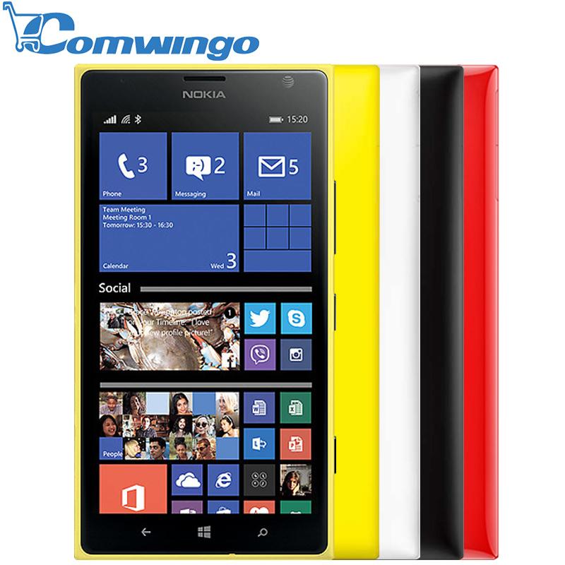 Original Nokia Lumia 1520 Windows Phone cellphone 32GB Quad Core 2.2GHz 2GB RAM 20MP NFC GPS WIFI 3G Smartphone(China (Mainland))