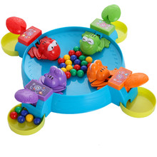 Multiplayer Board Game Parent Child Interaction Feeding Frogs Child Toy Kids Children Education Learning Table Toy Kid Gift(China (Mainland))