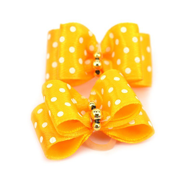 10 pcs /set Pet Puppy Hairpin Upscale Flower Hair Bows Pet Dog Grooming Accessories Headdress Products New(China (Mainland))