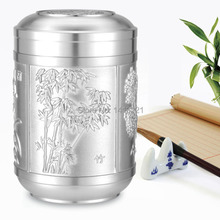 free shipping storage bottle tea caddy jar Sealed cans tin tea canisters gift creative tin can storage box home craft(China (Mainland))