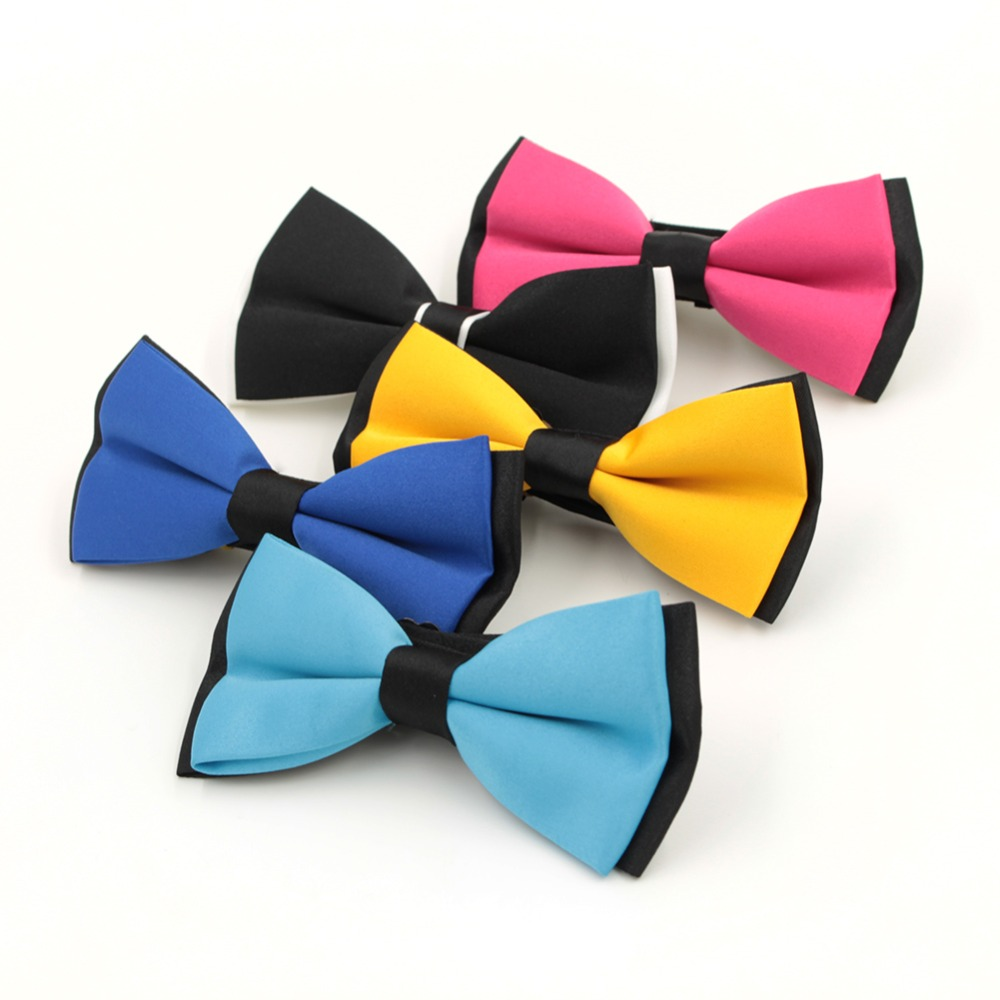 1pc/lot Fashion Bow tie for Men Tuxedo Classic Solid Color Party Bar Bowtie Red Black White Green Wedding Butterfly Freeshipping(China (Mainland))