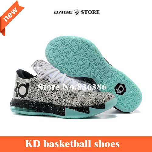top quality cheap 2015 kevin 6 VI Basketball Shoes brand durantes kd6 man KD sport shoes Free shipping size 40-46(China (Mainland))