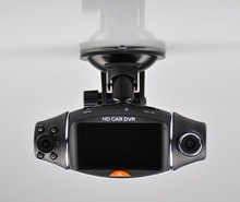 New arrive R310 Dual Lens 2 7 Inch 270 Degree GPS Mini Car dvr Camera Cam