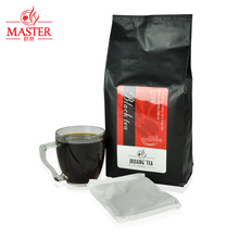 JUJIANG / master selection of special flavor tea black CTC tea shop with 20 packets 600g / Bag