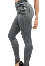 Tv Video Women  Jeans Leggins Jeggings Causal Plus Size Jeggings With Two Pieces False real pocket Blue Black Pants Hot Trousers(China (Mainland))
