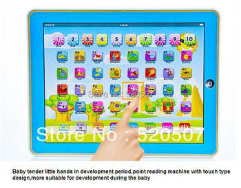 Y-PAD Y PAD  child's toy children tablet  learning machine  Spanish ABC laptop computer educational baby toys musical