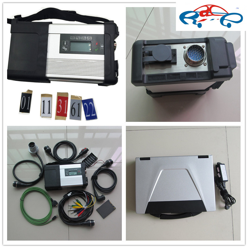 Full set mb star c5 wireless with Laptop CF52 4g For Panasonic Toughbook + V2015.12 software 128gb ssd Expert Mode ready to work(China (Mainland))
