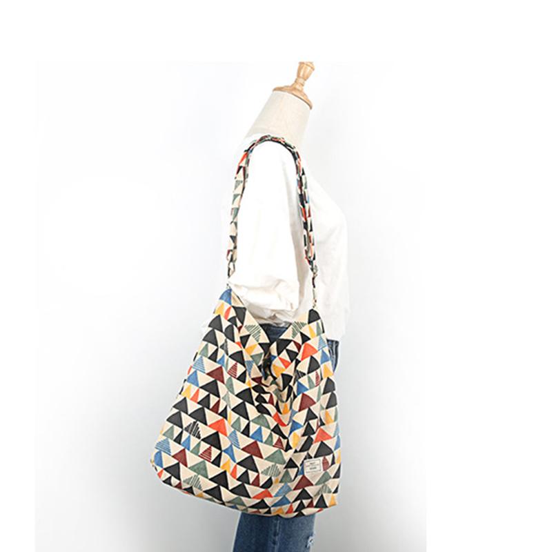 TANGIMP 2016 Hit Color Geometric Corduroy Messenger Bags Big Eco Autumn Winter Ethnic Women Shoulder Tote 42*40 cm bolsa compra(China (Mainland))