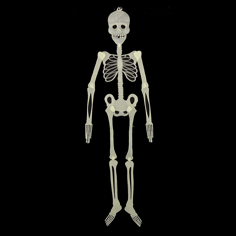 Halloween Decoration Scary Horror Luminous Skull Skeleton Halloween Props Glow Evil Party Favors Fantasia Halloween Party(China (Mainland))