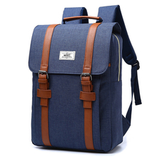 Buy Fashion Men Canvas Backpack Women Nylon Travel Bags Retro BackpacksTeenager School Bag Casual Daypacks Mochila Feminine Vintage for $20.18 in AliExpress store