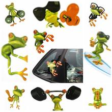 Retail New Funny Car Stickers Design 3D Peep Frog Peep Frog Cool Car Stickers And Decal Window Graphics Sticker Wholesaling !