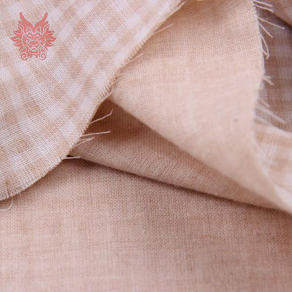 Free shipping white/brown double check jersey fabric,100%cotton yarn for baby cloth/bedding with size 145*50cm for 1pc SP671(China (Mainland))