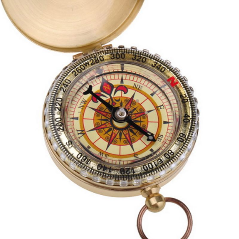 Outdoor Navigation Tools Watch Style Magnetic Pocket Directional Compass Camping(China (Mainland))