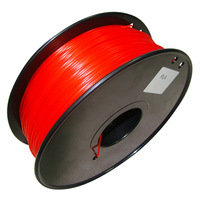 3D Printer HIPS Filament 1.75 in Red color 1kg