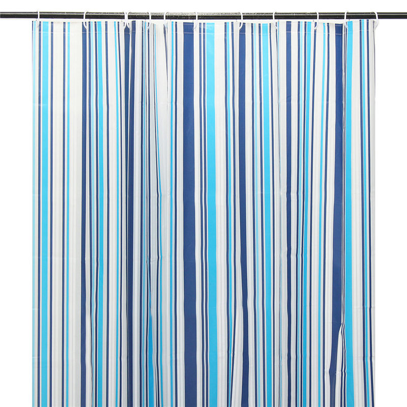 Can titjob blue striped shower curtains perv