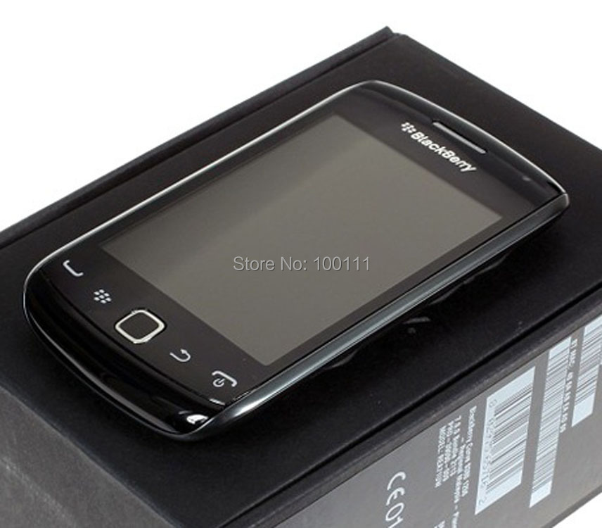 "Refurbished Original Blackberry 9380 Mobile Phone Unlocked 3.2"" Touch Screen Bluetooth WIFI 5MP camera (Black) ,Free Shipping(Hong Kong)"