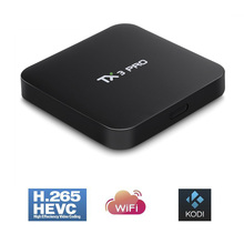 Buy TX3 PRO TV BOX Android 6.0 Amlogic S905X Quad Core Set-top Boxes RAM 1G 8G Android TV Box HDMI H.265 2.4G WIFI Media Player for $36.99 in AliExpress store