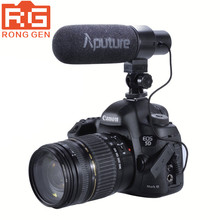 Buy Aputure V-Mic D1 Directional Condenser Shotgun Camera Microphone Canon Nikon Sony DSLR DV Camcorder for $69.00 in AliExpress store