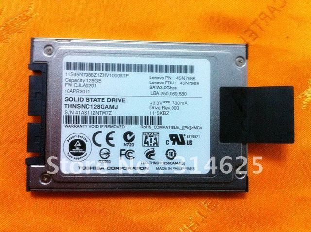 "For  Thinkpad     1.8""   128GB   Micro SATA 3.0 Gbps  msata   SSD   THNSNC128GAMJ   For Lenovo  FRU  45N7989   X300   T400"