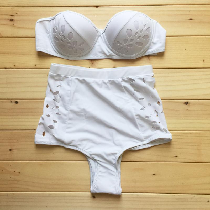 Stripsky 2015 Women Vintage Sexy High Waist Bikinis Set Swimsuit Swimwear Push Up Bathing Suit Beachwear BikiniОдежда и ак�е��уары<br><br><br>Aliexpress
