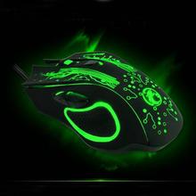 Factory direct sale – ESTONE X9 5000DPI e-sports gaming mouse dazzle colour breathing lamp CF Professional game LOL Mute USB