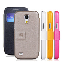 View Window Cover for Samsung Galaxy S4 Mini i9190 i9192 PU Leather Flip Case mobile phone Skin Protective Shell(China (Mainland))