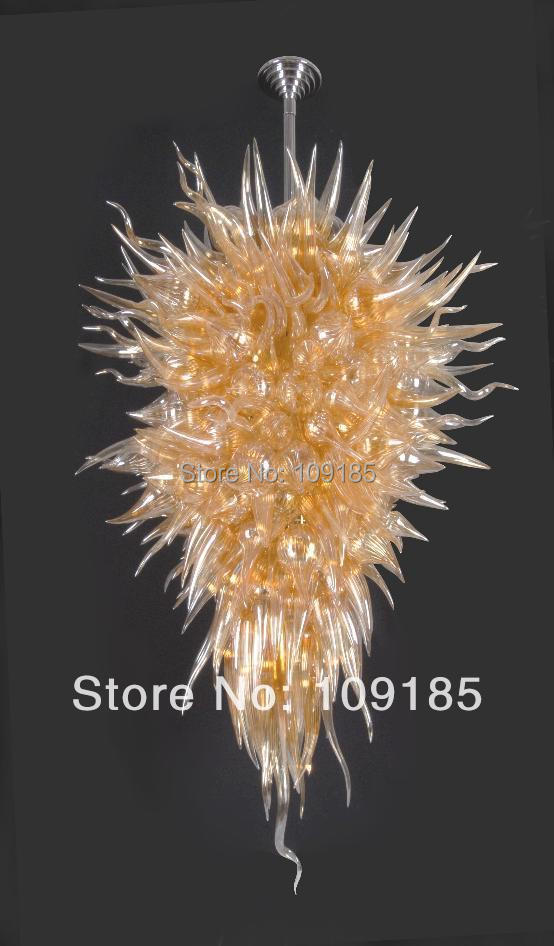Aliexpress.com : Buy Lighting Bright Amber Dale Chihuly Glass Art from Reliable glass food jars ...