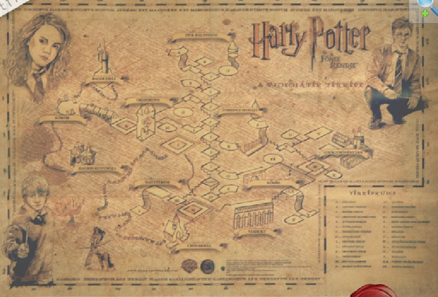 Buy new 2014 Wizarding World of Harry Potter ancient maps Ca