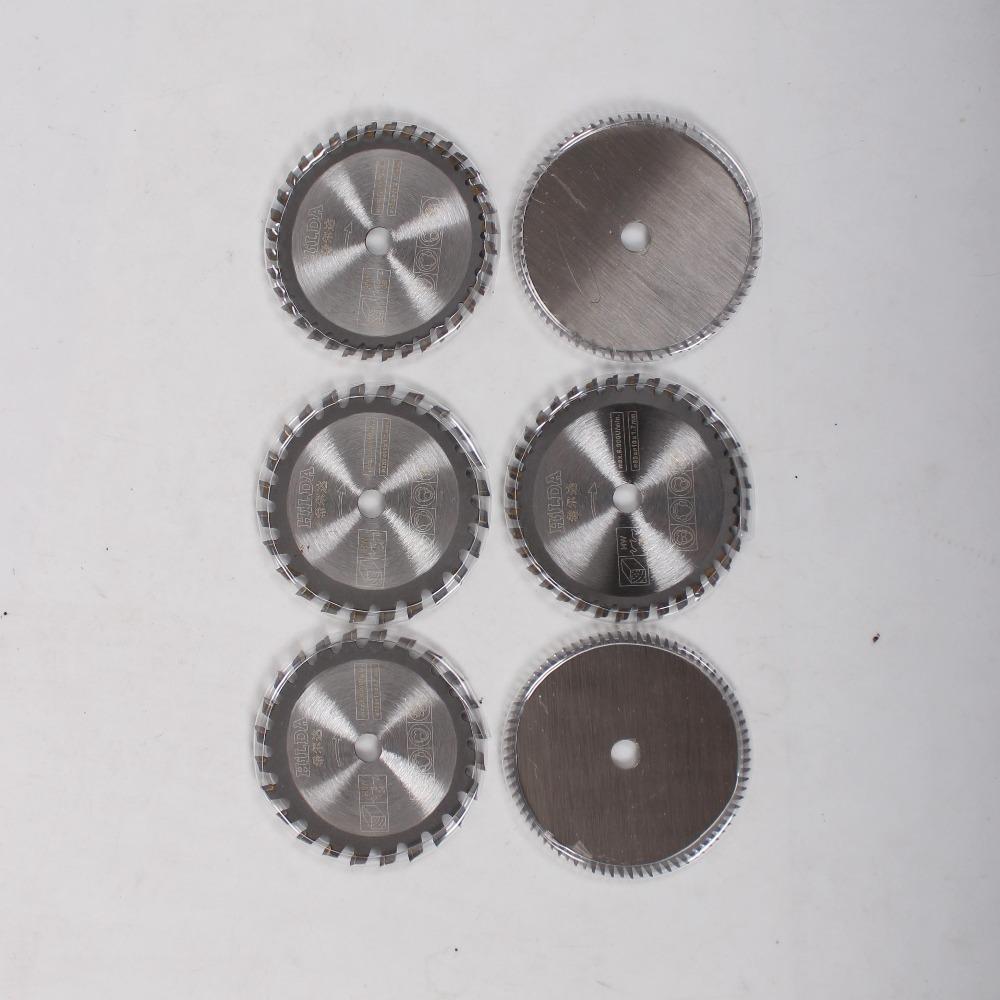 6pcs/lot TCT Saw Blade Circular Tungsten Carbide Circular Blade 24/36/80-Tooth for wood cutting dremel accessories<br><br>Aliexpress