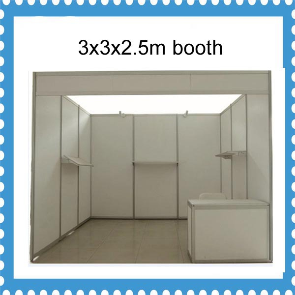 Trade Show Booth With Shelves : Popular standard exhibition booth from china best selling