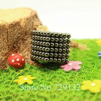 Free shipping 216pcs 3mm buckyballs magnetic balls neocube cybercube magcube  Packed at round tin box  black color