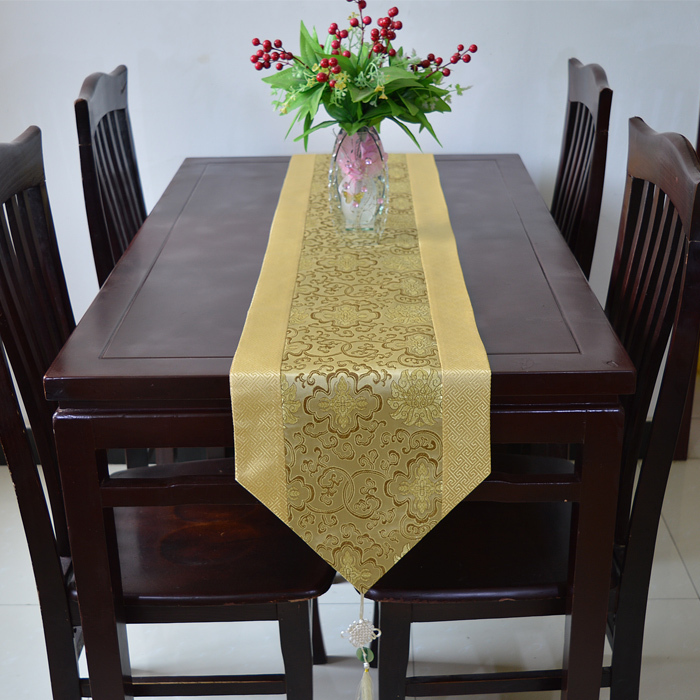 Buy 120 inch extra long luxury damask for 120 table runners