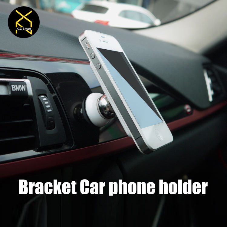 Car Bracket Mini Magnetic Tablet PC Holder 360 Degrees Magnet Car Kit Mobile Phone Stand For  iPhone Samsung Xiaomi HTC Huawei(China (Mainland))