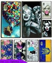 Case Cover for LG optimus L5 E615 E612 E610 Natural Beautiful Colorful Balloon In The Sky Painting Phone Hard Plastic