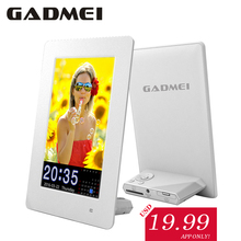 New Fashion 6 inch Vertical Hi-definition Digital Photo Frame with Clock & Calendar function, Light Sensor, Gift, Free shipment.