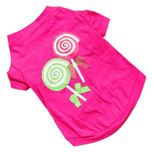 Buy Fashion 2016 Pet Puppy Dog Clothes Roupas De Cachorro Summer Pink Princess Lollipop Vest Sleeveless Small Ropa PerroT-Shirts for $1.14 in AliExpress store