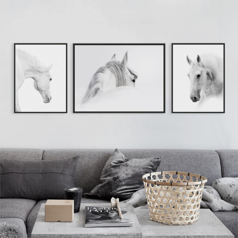 Online kopen Wholesale framed classic horse print uit China framed ...