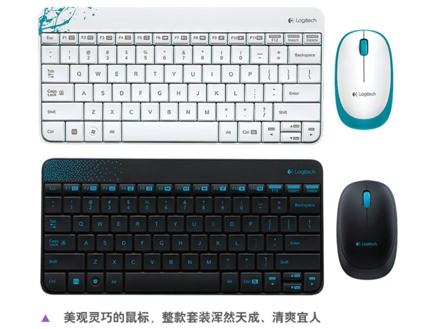 Logitech MK240 mini wireless keyboard and mouse set Free Shipping China Post(China (Mainland))