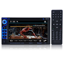 Car Audio Amplifier Built-in Bluetooth + microphone 6.2 Inch 6201A Audio DVD SB / SD 2-Din Car CD Player with Remote Control(China (Mainland))