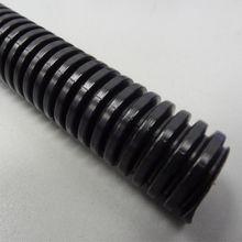 50 Length 18MM Width Split Loom Wire Flexible Tubing Conduit Hose Black