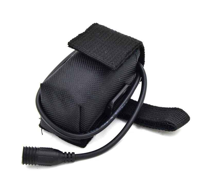 Гаджет  Free shipping 4x18650 6800mAh Rechargeable 18650 Li-ion Battery Pack For Bike Bicycle Light Battery Pack Bag None Спорт и развлечения
