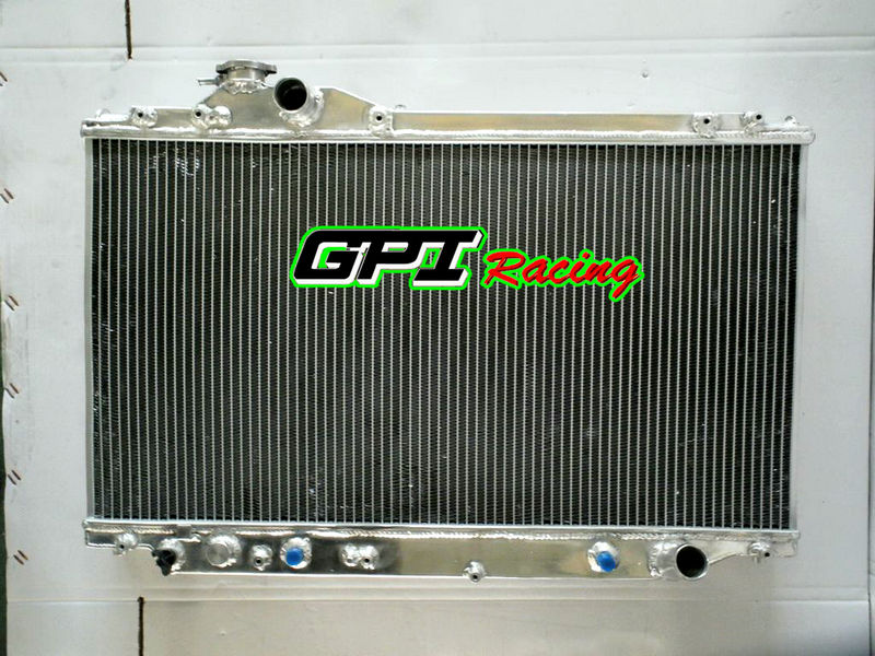 Premium Quality Aluminum radiator for Toyota Supra JZA80 1993-1998 Automatic & Manual aluminum radiator 93 94 95 96 97 98(China (Mainland))