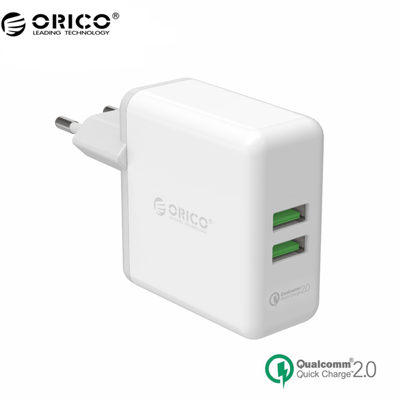 ORICO QCK-2U 2 Porst Quick Charger QC 2.0 USB Quick Charger Wall Charger(China (Mainland))