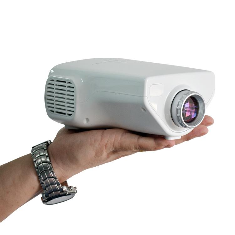 Hd 1080p Overhead Portable Mini Led Lcd Projector Pc Av Tv: The New E03 Children LED Projector HD 1080P Portable Mini