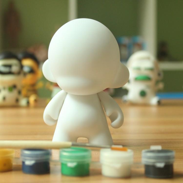 2015 Hot Selling Mini Munny Kidrobot Munnyworld FOOMI Munny Blank Do It Yourself Soft Vinyl Figure Hot Toys