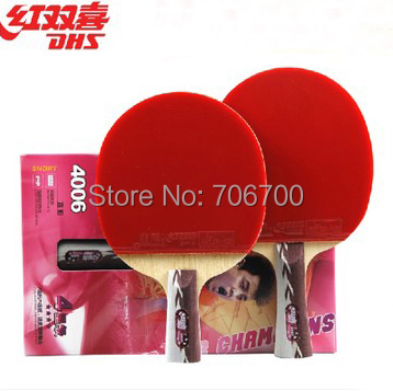 Double happiness table tennis ball pen 4006 pill 4002 racket(China (Mainland))