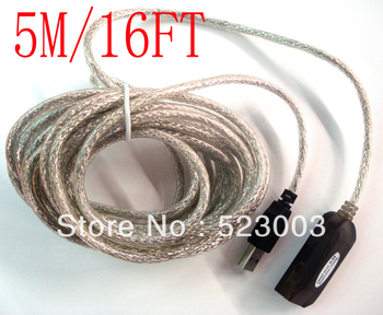 NEW 5M/16FT USB extension cable USB 2.0