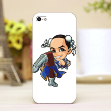 pz0018-4-12 cartoon chinese girl Design Customized cellphone casess For iphone 4 5 5c 5s 6 6plus Lucency Skin Shell cover cases