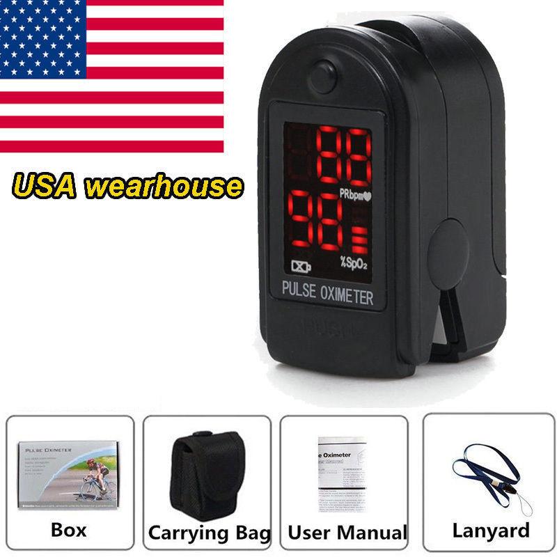 Oximetro de dedo CONTEC CMS50DL Black Blue Brand CE&FDA Fingertip Pulse Oximeter Spo2 Monitor Pulse Ox Blood Oxygen Oximetry(China (Mainland))